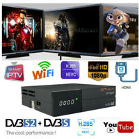 GTMedia V9 SUPER H.265 1080P DVB-S2 Satellite Receiver PowerVu WiFi HDMI TV Box