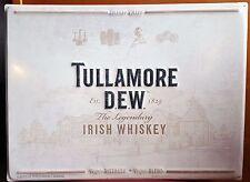 Tullamore Dew Irish Whiskey wall tacker sign