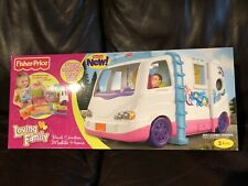 Loving Family Rv Beach Vacation Mobile Motor Home Fisher Price Camper 2011 W0429