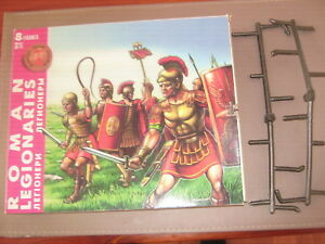 Marx roman recasts made in Russia in 1997 black colour all 8 mint of sprue boxed