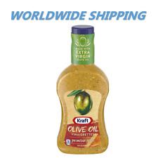 Kraft Olive Oil Parmesan Pesto Vinaigrette Salad Dressing 14 Fl Oz WORLD SHIP