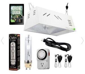 VIVOSUN Hydroponic 1000W HPS Grow Light Air Cooled Reflector Kit