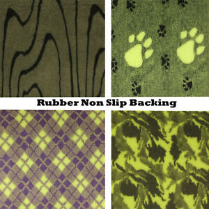 Green S to XL PRO Luxury NON SLIP Washable Veterinary Bedding Dog Cat Animal Bed