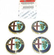 100% GENUINE ALFA ROMEO GIULIETTA  New Alloy Wheel Center Cap Set 50521712