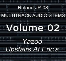 Roland JP-08 multipiste Audio Tiges Vol.2 YAZOO-UPSTAIRS AT ERIC'S