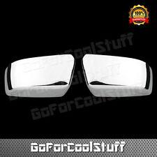 For Chevy 15  Suburban Ls Lt Ltz / Cadillac Escalade Esv Top Chrome Mirror Cover