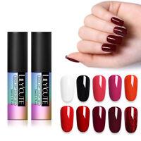 LILYCUTE 5ml Pure Tips Gellack  Series Soak Off UV Gel Polish Nail Art