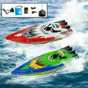 Remote Control Twin Motor Boat RC Racing Speed Pond Fun Boat Gift Toys For Kids