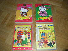 DVD lot de 4 : Hello Kitty (2) - Petit Ours Brun (1) - L'ours Benjamin (1)
