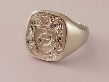 18ct extra large gents signet, yellow, rose or white gold, your engraving option