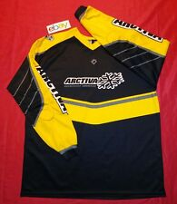 RARE Arctiva Moose padded MOTORCROSS JERSEY Shirt BLACK YELLOW WHITE MENS sz 3XL