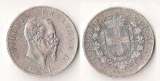 Vittorio Emanuele II 5 lire 1874 Milano