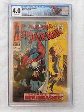 "Amazing Spider-man #59 (Marvel, 4/68) CGC  1st app.Kingpin, 1st MJ cover ""KEY"""