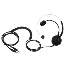 Telephone Headset Noise Cancelling with Mic 2.5mm for Call Center Telephones