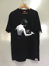 VINTAGE 90's ALOHA ARMY BRUCE LEE REAL LIVING IS LIVING FOR OTHER T SHIRT USA L