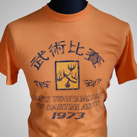 Enter the Dragon Hans Tournament Retro Movie T Shirt Bruce Lee MMA Tange Kung Fu
