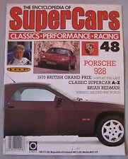 SUPERCARS magazine Issue 48 Featuring Porsche 928 cutaway & poster, Brian Redman