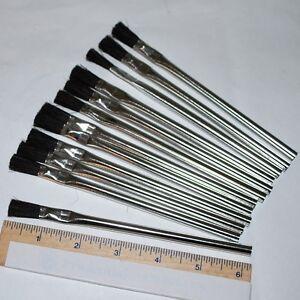 Glass Soldering Acid Flux Brush - Pack of  12 Brushes