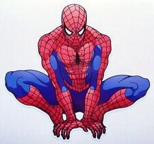 Spiderman Color pegatina de vinilo, Para El Coche, Pared, Laptop, Ipad (12 x 11cms)