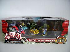 Transformers Robot Heroes-batalla por el Allspark Figura Conjunto de Regalo