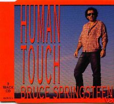 Bruce Springsteen Human Touch 3TRX UK CD Single #657872