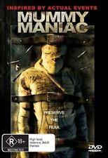 Mummy Maniac (DVD, 2007) Rare Horror Movie
