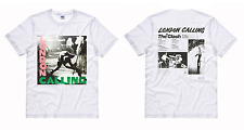 T-SHIRT MAGLIA THE CLASH LONDON CALLING JOE STRUMMER PUNK VINTAGE MUSIC