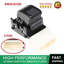 84810-87104 Auto Passenger Side Electric Power Window Switch lifter Fit Daihatsu