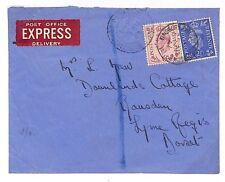 C300 GB WW2 Express Mail 1942 *Finsbury Park Blackstock Road* CDS Cover Dorset