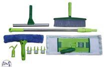 Aqua Laser Reinigungsset Bodenwischer Fensterwischer Wischmop Fensterabzieher