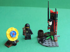 Lego set 2516 Ninja Training Outpost + figurine Cole Ninjago The Golden Weapons