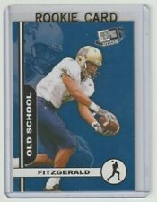 LARRY FITZGERALD Pitt Panthers 2004 Press Pass OLD SCHOOL #OS15 Rookie Card RC