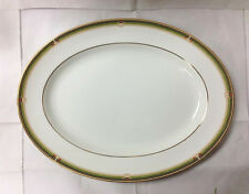 """WEDGWOOD """"OBERON"""" OVAL PLATTER 15 1/4"""" BONE CHINA BRAND NEW / MADE IN ENGLAND"""