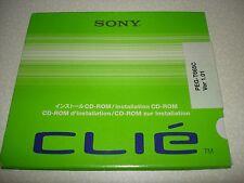Sony Clie PEG-T665C Software Treiber Installation CD-ROM