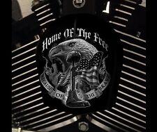 Harley Davidson Custom Horn cover Touring Dyna Softail Sportster M8 MILITARY