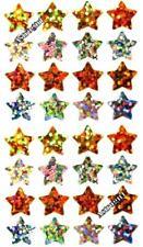 ~ Sparkle Reward Stars Gold Silver Chart School Hambly Studio Glitter Stickers ~