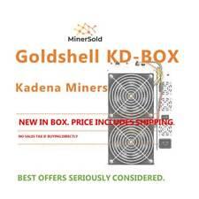 Goldshell KD-Box Miner New- With PSU