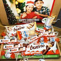 Kinder Bueno Gift Box / Chocolate Sweet Hamper / Personalised Birthday Present