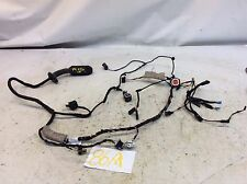 13-16 BMW 650XI F06 GRAN COUPE FRONT LEFT DOOR WIRE WIRES WIRING HARNESS 86A I