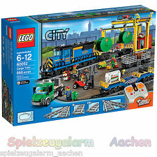 LEGO 60052 CITY Güterzug Cargo Train Le train de Marchandises + Functions Fernst
