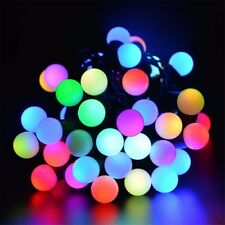 5M 50 Led String Lights Ball RGB Twinkle Light Waterproof Globe Fairy Christmas