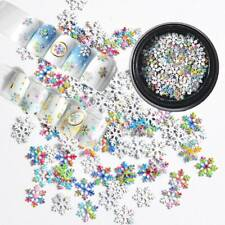 SNOWFLAKE SHAPE GLITTER~Sequins ~Nail•Acrylic•Gel•Body Art•Face•Festival•Crafts