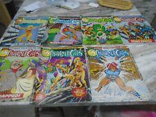 COMIC BUNDLE 7  MARVEL  THUNDERCATS  COMICS 1987