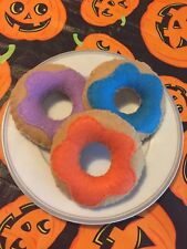 Handmade Felt Play Food- Donuts - Pretend Play