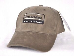 *SNOWSHOE WEST VIRGINIA* Ski Snowboard FITTED Ball cap hat OURAY sample