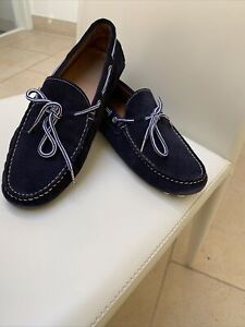 Zara Mens Blue Moccasin,Driving Loafers/Shoes, Size: 43