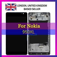 Per MICROSOFT NOKIA LUMIA 950 XL LCD Screen Display assieme ORIGINALE CON TELAIO