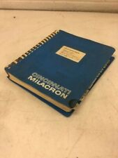 Cincinnati Milacron Talon 208 Programming Manual, P/N 3429591, 6-Tc-91005, Used