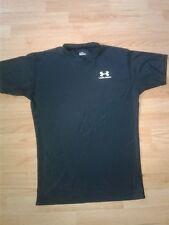 UNDER ARMOUR Mens 2XL XXL Heat Gear Compression Short Sleeve Shirt BLACK