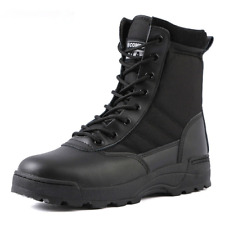 Tactical Military Boot Desert Combat Army Outdoor Hiking Ankle Shoes Safty Shoes